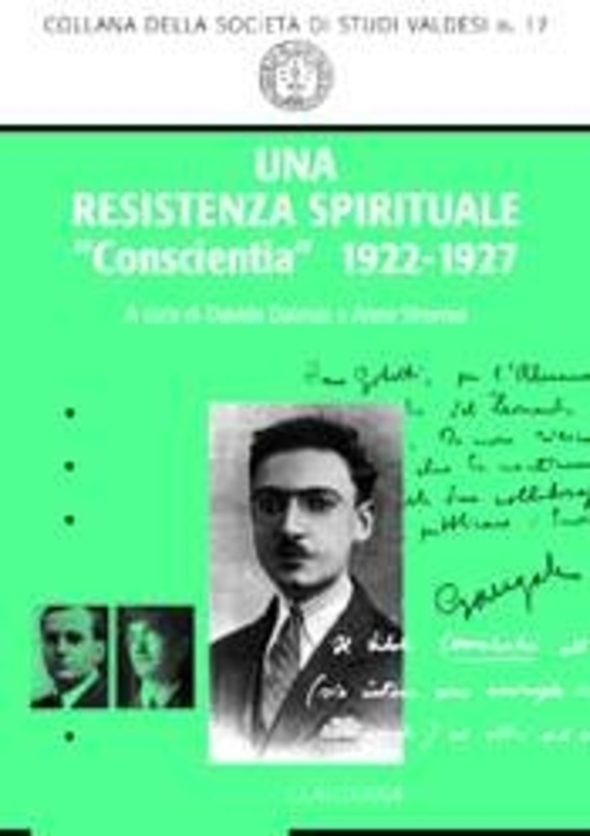 Una resistenza spirituale. «Conscientia» 1922-1927