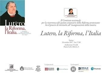 Torino: mostra «Lutero, la Riforma, l'Italia»
