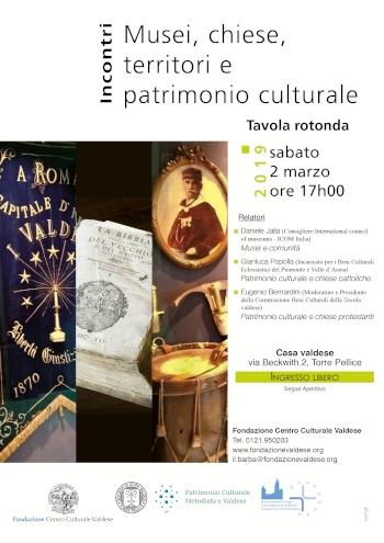 Musei, chiese, territori e patrimonio culturale