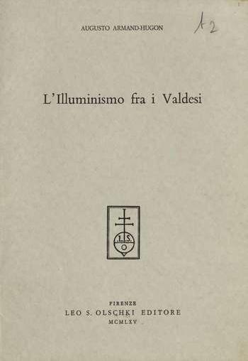 L'illuminismo tra i Valdesi, A. Armand Hugon