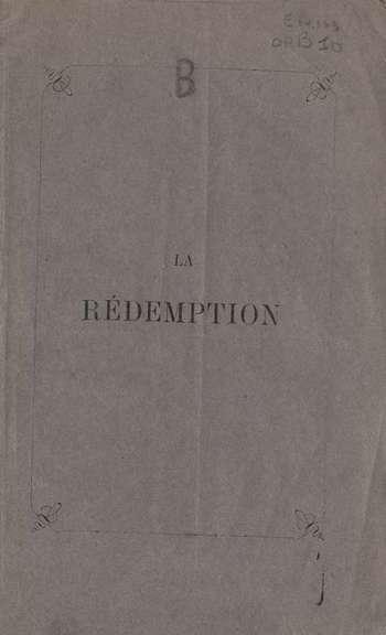 La rédemption, C.A. Bert
