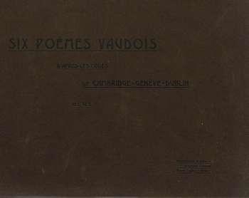 Six poèmes vaudois, A.A. Pons