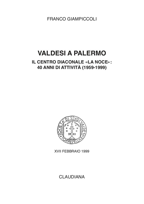 1999 - Valdesi a Palermo